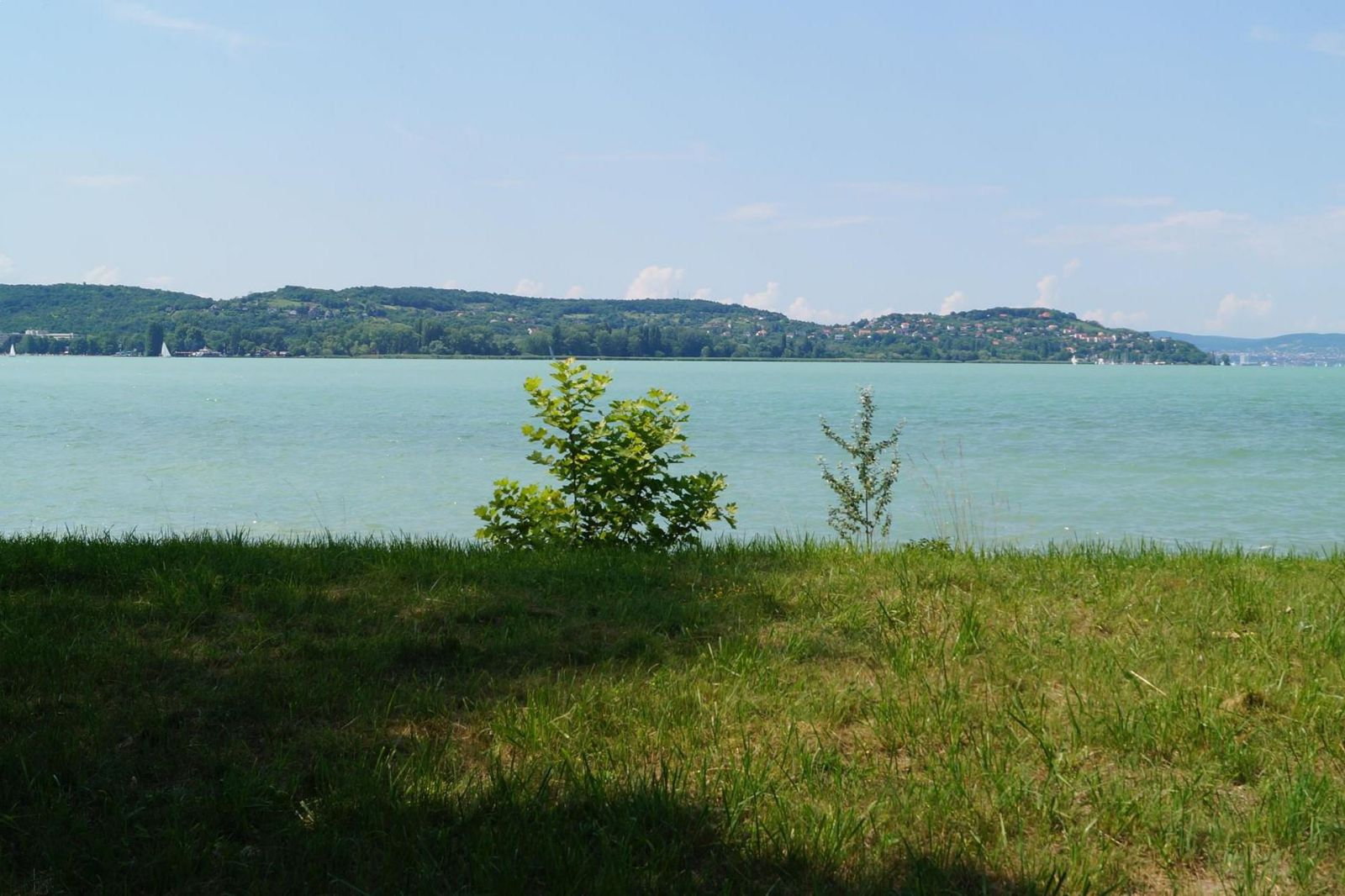 Land, development field with magic panoramic view at the Lake of Balaton is for sale