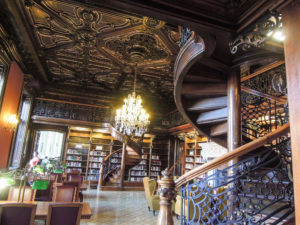 One of the most beautiful library of the world Budapest