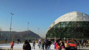Free ice rink Budapest