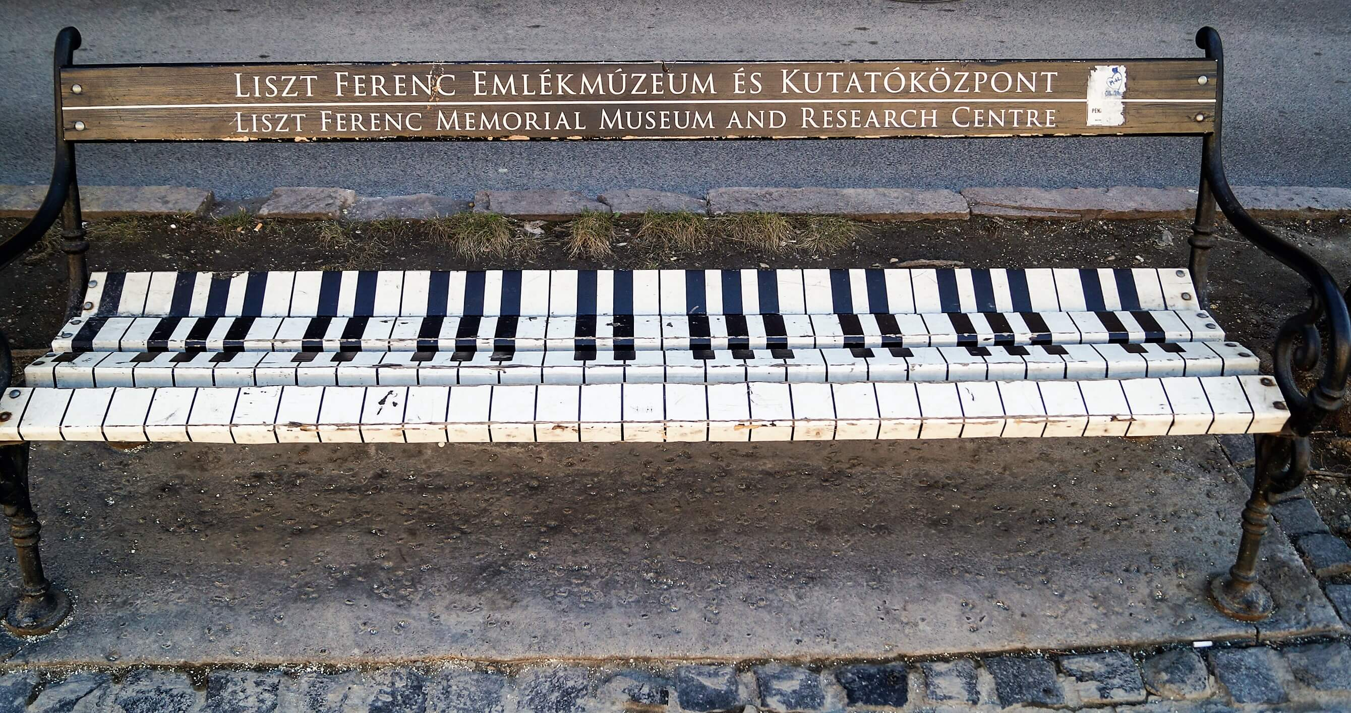 Liszt Memorial Museum and Research Centre beanch Budapest